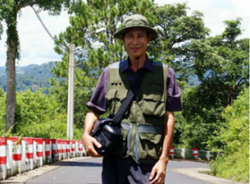 Nguyen Van Hai (pen name Dieu Cay) in an undated photo taken before his 2008 detention. RFA