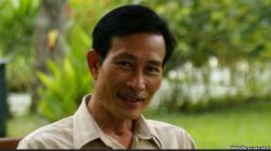 FILE - Prominent blogger Dieu Cay remains in jail in Vietnam.