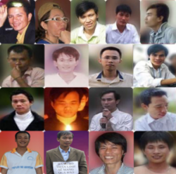 The original petitioners: Vietnamese activists who have been detained