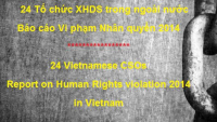 24 Vietnamese CSOs Report on Human Rights violation 2014 in