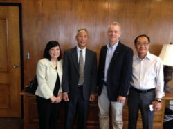 Congressman Russell at a meeting with Vietnamese American activists on Aug 18