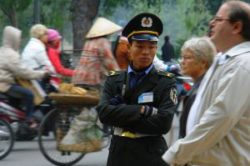 Vietnam police officer. Photo: CharlesFred, flickr