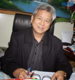 Mr. Kim Quoc Hoa, former editor-in-chief of Nguoi Cao Tuoi newspaper