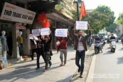 Attempts to protest against the visit by the Chinese leader have provoked violent attacks