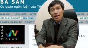 Blogger Nguyen Huu Vinh and his news website AnhBaSam