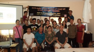 Vietnam activists attending cyber security training course in Vung Tau on Feb 20-22