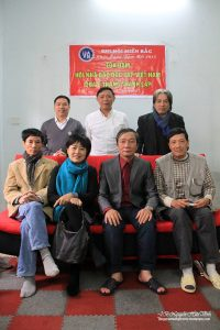 Independent bloggers at a meeting of IJAVN in Hanoilast year