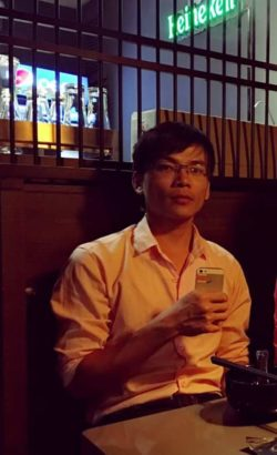 Mr. Nguyen Viet Dung before being detained on May 20-24