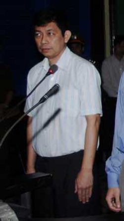 Tran Huynh Duy Thuc was sentenced to 16 years in prison in 2010. (AP/Hoang Hai/Vietnam News Agency)