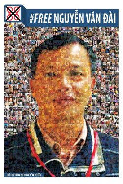 Human rights lawyer Nguyen Van Dai, who was detained on Dec 16, 2016 and charged with anti-state propaganda