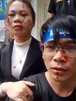 Many Activists Detained, Two Beaten in Hanoi on 29th Anniversary of Gac Ma Massacre