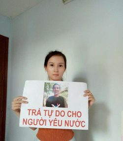 Police in HCM City Beat Son, Detain Daughter-in-law of Arrested Political Dissident Le Dinh Luong