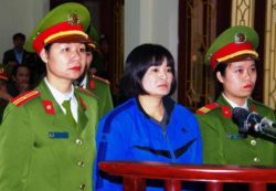 Vietnam Rejects Appeal of  Human Rights Activist Tran Thi Nga, Sending Her Back to Prison