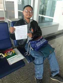 Vietnamese Activist Barred from Leaving to US for Family Reunification
