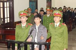 Jailed Citizen Journalist Nguyen Van Hoa Transferred to Quang Nam, around 500 Km away from His Native Ha Tinh Province