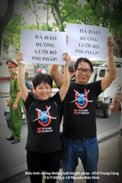 Several Vietnamese Activists Detained, Many Others under House Arrest on 30th Anniversary of Gac Ma Loss to China